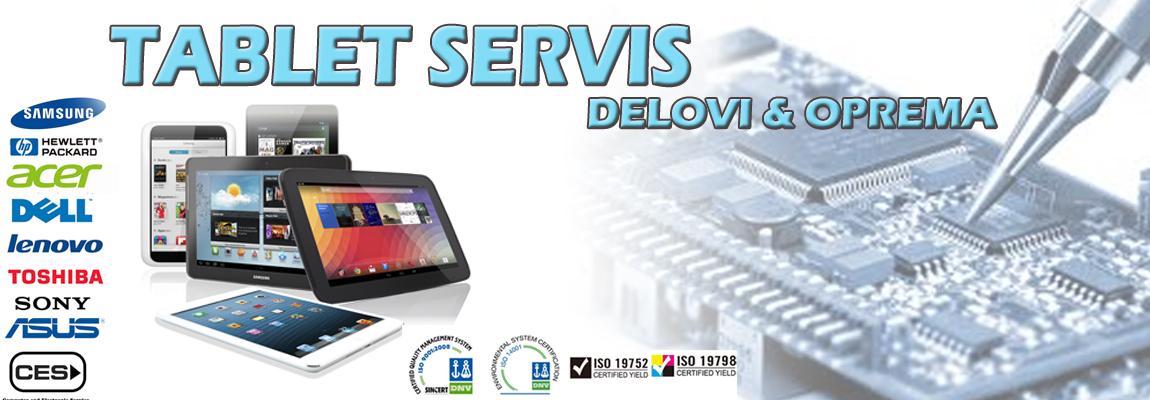 tablet servis slider